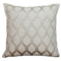 Sherry Kline Sonora Square Throw Pillow in Linen