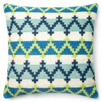 Loloi Hera 22-Inch Square Down Throw Pillow in Blue/Green
