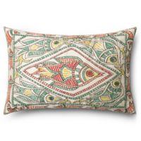 Fish Rectangle Down Throw Pillow