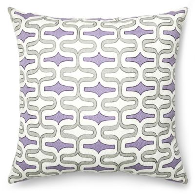 loloi paula oblong throw pillow in plumgrey