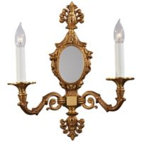 Metropolitan® 2-Light 15-Inch Wall Sconce in Gold