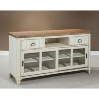 Panama Jack Millbrook Entertainment Console in White