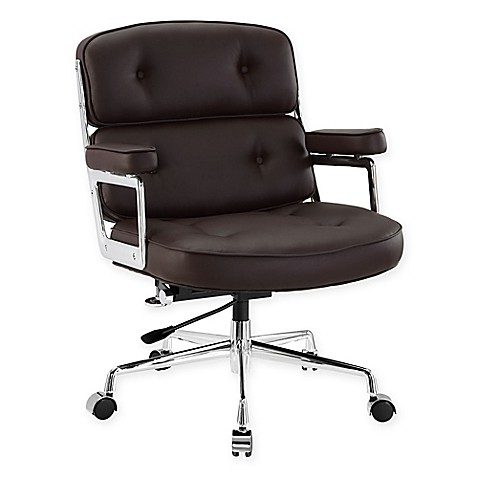 Buy Modway Remix Office Chair In Brown From Bed Bath Amp Beyond