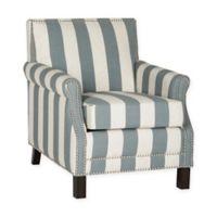 Safavieh Easton Club Chair in Grey/White