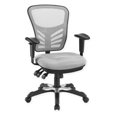Beautiful Modway Articulate Mesh Office Chair In Grey