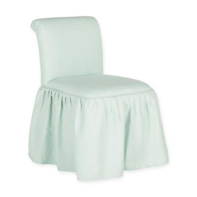 Safavieh Ivy Vanity Chair In Robins Egg Blue