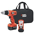 Black & Decker™ 12-Volt 3.8-Inch Cordless Drill/Driver with Storage Bag and Stud Sensor