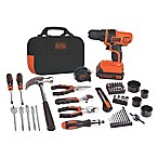 Black & Decker™ 68-Piece 20-Volt Drill Project Kit