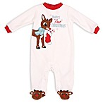 "Rudolph Size 3M ""Baby's First Christmas  Sleep 'N Play"