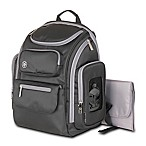 Jeep® Perfect Pockets Backpack Diaper Bag in Black
