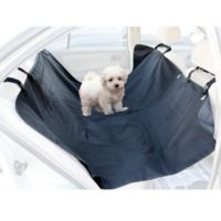 OxGord Waterproof Dog/Cat Rear Seat Travel Hammock in Black