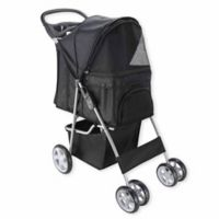 OxGord® Pet Stroller in Black