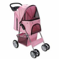 OxGord® Pet Stroller in Pink