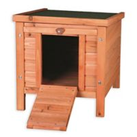 Trixie Natura Small Animal Hutch in Brown with Outdoor Run