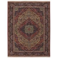 Karastan Original Medallion Kirman 10-Foot x 14-Foot Rug