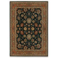 Karastan Sovereign Sultana 8-Foot 8-Inch x 10-Foot Area Rug in Navy