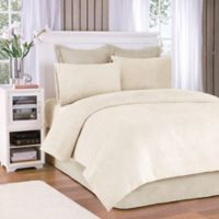 Premier Comfort® Soloft Plush Twin Sheet Set in Cream
