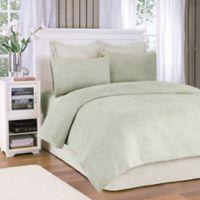 Premier Comfort® Soloft Plush Queen Sheet Set in Sage