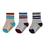 carter's® Size 12-24M 3-Pack Multicolor Striped Marled Socks