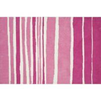Loloi Rugs Piper 5-Foot x 7-Foot Area Rug in Tickle Me Pink