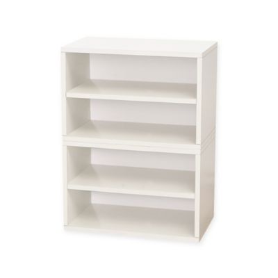 Kids Furniture U003e Way Basics Tool Free Assembly Florence Modular Shoe Tower,  Bookcase And