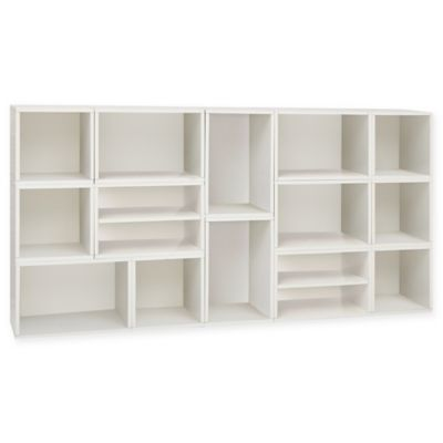 Way Basics Rome Storage Blox Eco Shelving in White  sc 1 st  Bed Bath u0026 Beyond & Buy Storage Cubes Furniture from Bed Bath u0026 Beyond
