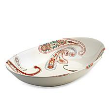 Misto Paisley Oval Bowl/Platter  sc 1 st  Bed Bath u0026 Beyond & Misto Paisley Dinnerware - Bed Bath u0026 Beyond