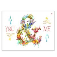 "GreenBox Art® Posters That Stick ""You & Me"" Wall Art"