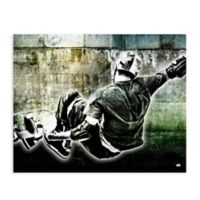 GreenBox Art™ 28-Inch x 35-Inch Skater Wall Art