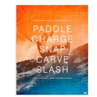 GreenBox Art™18-Inch x 24-Inch Surf Action Wall Art