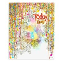 "GreenBox Art ""Today Is The Day"" 28-Inch x 35-Inch Wheatpaste Poster Wall Art"