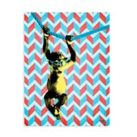 GreenBox Art Too Hip Electric 18-Inch x 24-Inch Wheatpaste Poster Wall Art