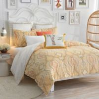 Lemon Tree Pateel Twin Duvet Set in Yellow