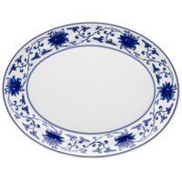 Vista Alegre Lazuli 16.5-Inch Oval Platter