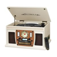 Victrola™ Nostalgic Classic 6-In-1 Bluetooth® Turntable in White