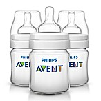 Philips Avent 3-Pack 4 fl. oz. Anti-Colic Bottle