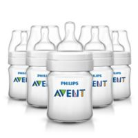 Avent 4 oz. Anti-Colic 5-Pack Bottles in Clear