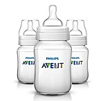 Philips Avent 9 oz. Anti-Colic 3-Pack Bottles in Clear