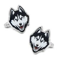 NCAA University of Connecticut Huskies Cufflinks