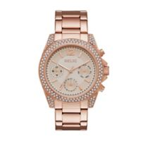 Relic® Jane Glitz Ladies' 38mm Dial Watch in Rose Goldtone Stainless Steel