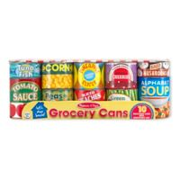 Melissa & Doug® Let's Play House™ Grocery Cans