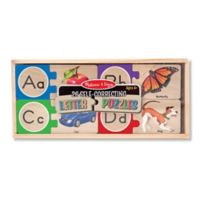Melissa & Doug® 26 Self-Correcting Letter Puzzles