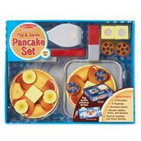 Melissa & Doug® Wooden Flip and Serve Pancake Set