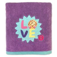 "Shopkins ""I Love Shopkins"" Bath Towel"