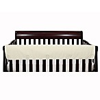 The Peanut Shell® Solid Long Crib Rail Guard in Ivory