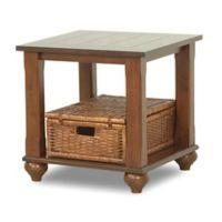 Klaussner® Treasures End Table in Brown