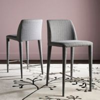 Safavieh Garretson Counter Stools in Grey (Set of 2)