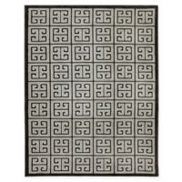 Karastan Pacifica Highgate 9-Foot 6-Inch x 12-Foot 11-Inch Area Rug in Black