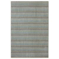 Karastan Pacifica Seabridge 5-Foot 3-Inch x 7-Foot 10-Inch Area Rug in Beige
