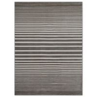 Beckett Stripe 5-Foot 2-Inch x 7-Foot 2-Inch Area Rug in Taupe